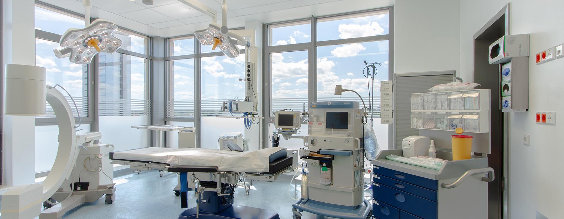 OrthoKlinik Operationsraum